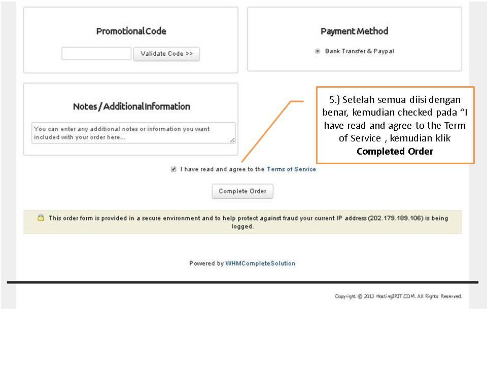 _Cara Order Domain dan Hosting di HostingIRIT dot COM (5)